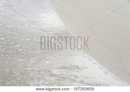 Sea And Sand At Coastline In Danang