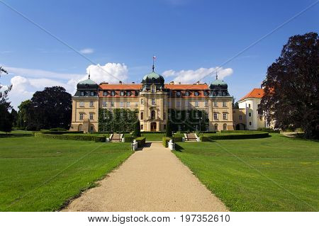 Baroque Castle Lany, Summer Residence Of President Of Czech Republic