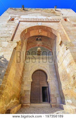 Gate of Justice, Puerta de la Justicia, Alhambra, Granada, Spain, Andalusia, Europe: the most impressive gate to Alhambra complex