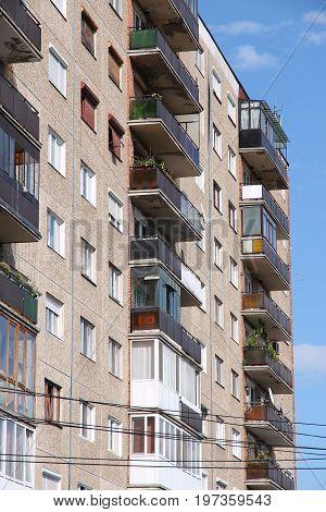 Romania Apartment Building