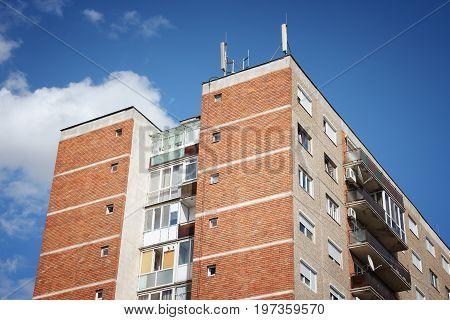 Apartment Buildin In Romania