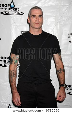 LOS ANGELES - OCT 19:  Henry Rollins arrives at the Drop in the Bucket