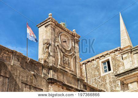 Fragment Of Jesuit College At Dubrovnik