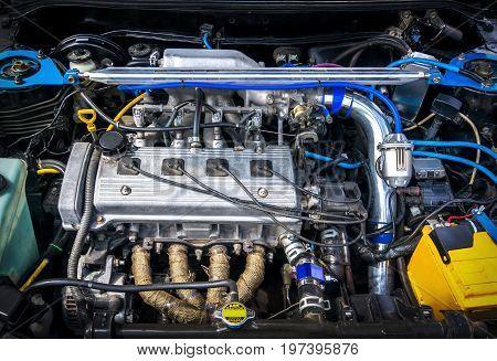 Details Of New Car Engine.