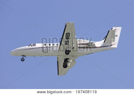 Hs-med Cessna 550 Citation Bravo Of Mjets.