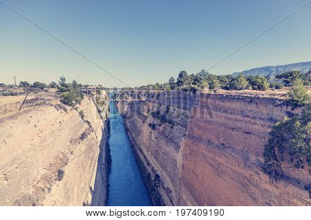 Corinth Canal In Greece 6