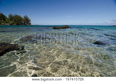Beautiful Clear Waters Of Waialea