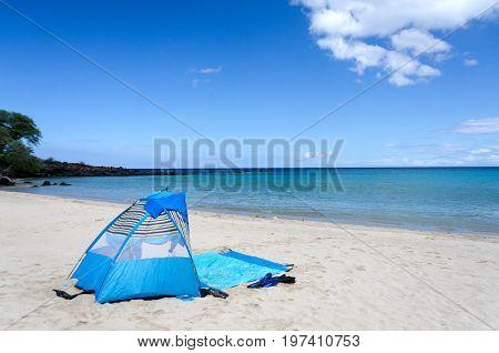 Trail To The South Of Kaunaoa Beach, Big Island