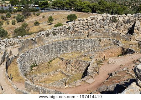 Mycenae's Grave Circle A