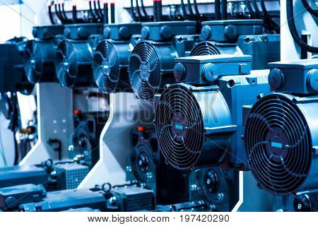 Many industry air humidifier at the factory
