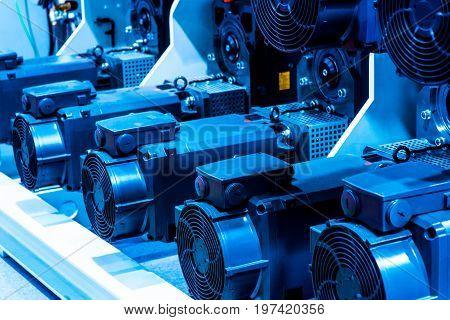 Many air humidifier at the printer factory