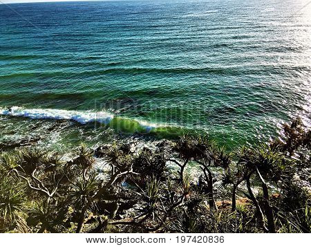 I love the beach because i can walk for miles, and just feel the breeze blowing from the tide, as i watch the waves overlaps one another and smell the salty ocean.