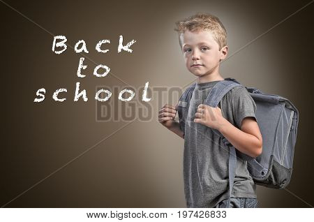 Back To Shool Concept