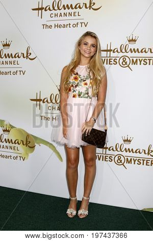 LOS ANGELES - JUL 27:  Paris Abbott at the Hallmark TCA Summer 2017 Party at the Private Residence on July 27, 2017 in Beverly Hills, CA