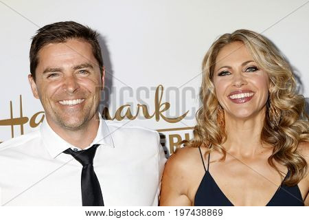 LOS ANGELES - JUL 27:  Kavan Smith, Pascale Hutton at the Hallmark TCA Summer 2017 Party at the Private Residence on July 27, 2017 in Beverly Hills, CA