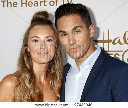 LOS ANGELES - JUL 27:  Alexa PenaVega, Carlos PenaVega at the Hallmark TCA Summer 2017 Party at the Private Residence on July 27, 2017 in Beverly Hills, CA