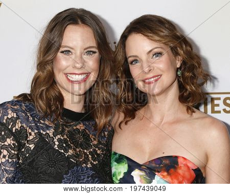 LOS ANGELES - JUL 27:  Ashley Williams, Kimberly Williams-Paisley at the Hallmark TCA Summer 2017 Party at the Private Residence on July 27, 2017 in Beverly Hills, CA
