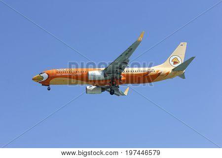 Hs-dbf Boeing 737-800 Of Nokair   Low-cost Airline