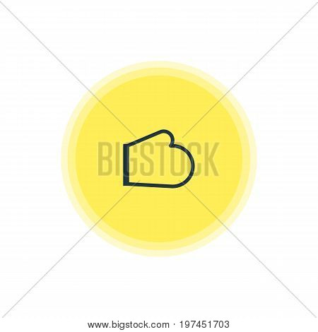 Beautiful Kitchenware Element Also Can Be Used As Oven Mitts Element.  Vector Illustration Of Kitchen Glove Icon.