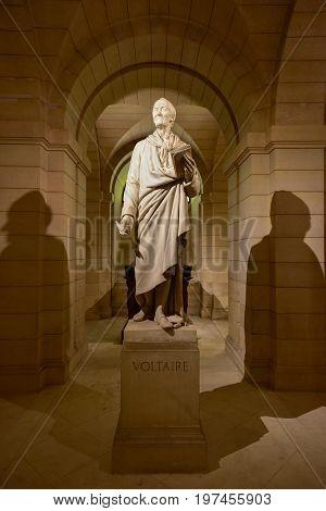 Pantheon Crypts - Paris, France