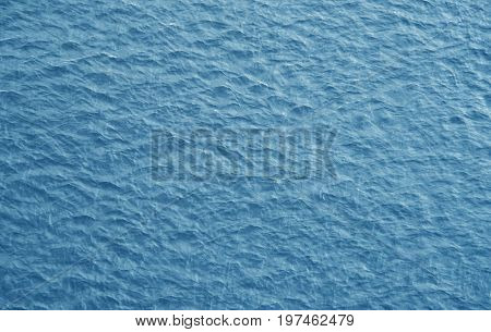 Abstract background a water surface aerial view