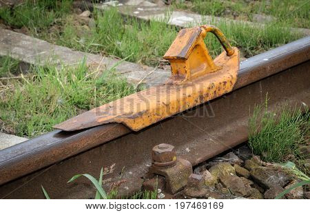 These are a stumbling block on railway tracks for railways