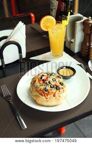 Tasty Dish In A Restaurant