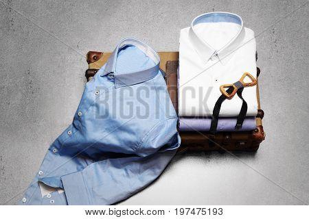 Composition Of Stylish Men's Shirts