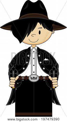 Cute Cowboy Outlaw.eps