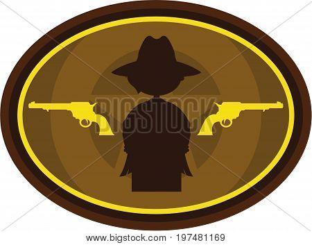 Cowboy Silhouette 4.eps