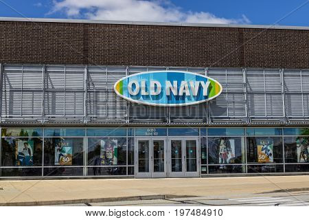 Indianapolis - Circa July 2017: Old Navy Retail Mall Location. Old Navy is a Division of Gap Inc. IV