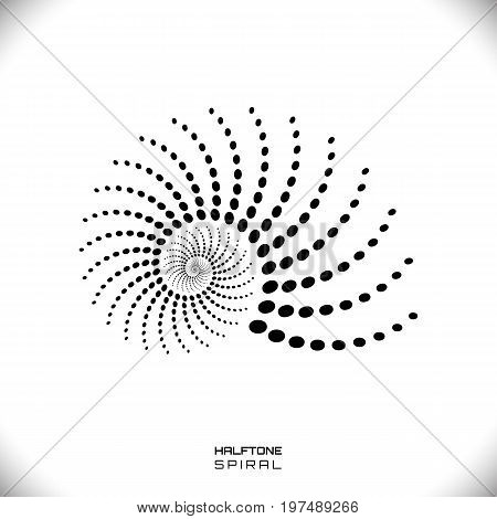 Abstract Spiral Or Swirl