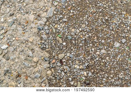Gray Gravel Background