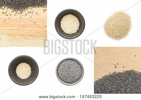 Sesame Seeds Isolated