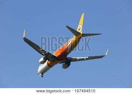 Hs-dbl Boeing 737-800 Of Nokair