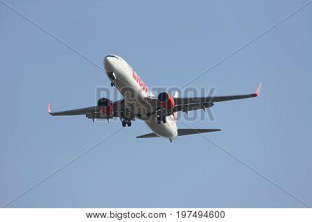Hs-lti Boeing 737-900Er Of Thai Lionair Airline