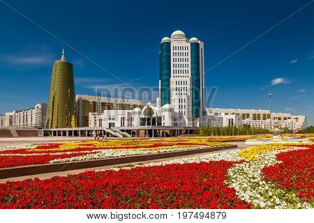 House of Parliament of the Republic of Kazakhstan, Astana.