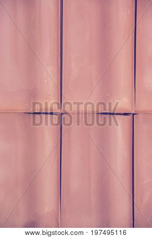 Closeup Of Clay Roof Tiles Background 3