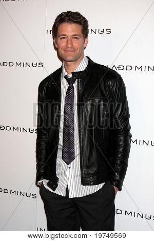 LOS ANGELES - NOV 18:  Matthew Morrison arrives at the