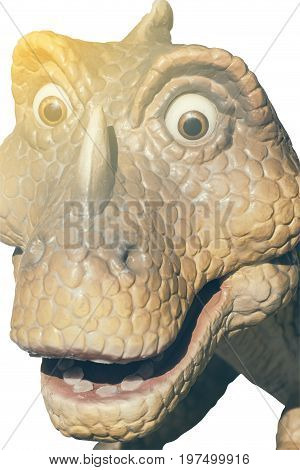 Head Of Statue Dinosaur