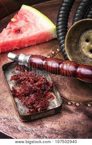 Exotic Shisha Hookah With Watermelon