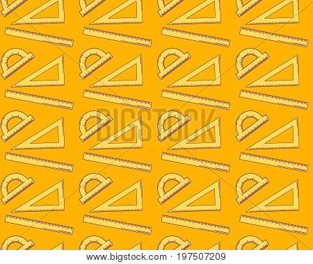 Vector Illustration. Seamless Abstract Pattern. Background With
