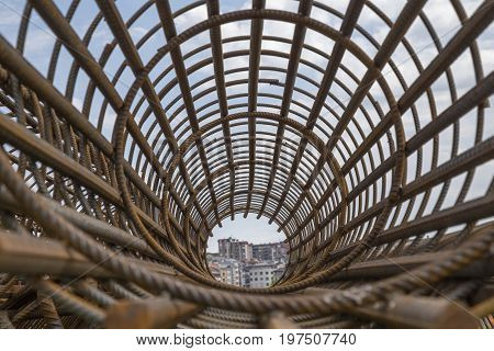 Rebar Cage Perspective