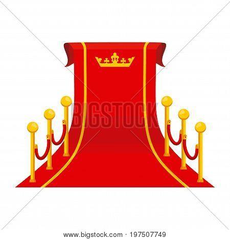 Crown Big Red Carpet