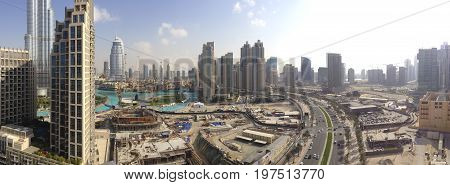 Downtown Dubai Panoramic View