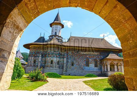 The Sucevita Monastery Is A Romanian Orthodox Monastery Situated In The Commune Of Sucevitai, Suceav