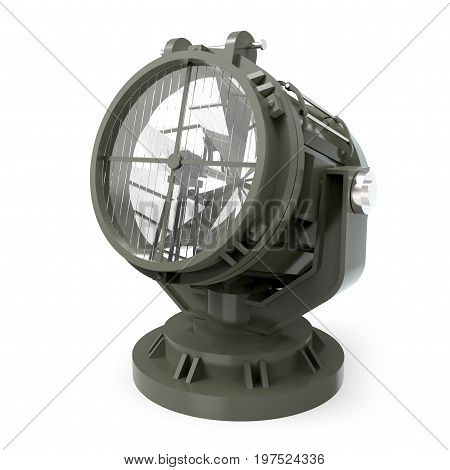 Military Antiaircraft Searchlight