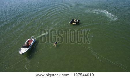 Summer Fun On The Water