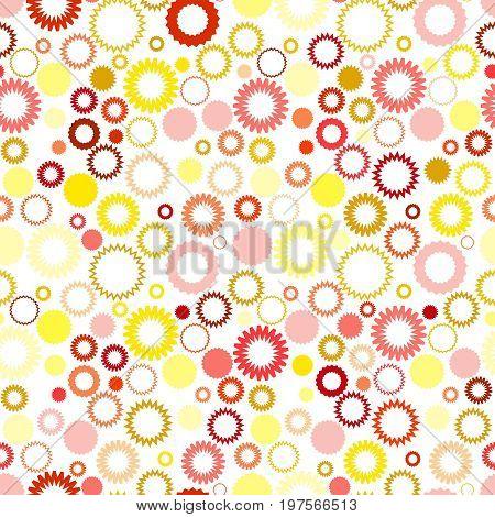 Retro seamless square vivid gear background wallpaper