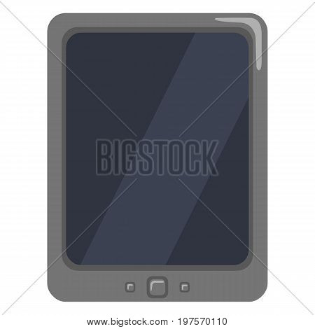 Vector Color Flat Icon - Tablet Pc